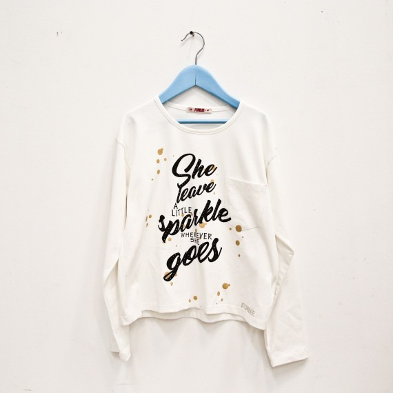 T-shirt con stampa Funbee