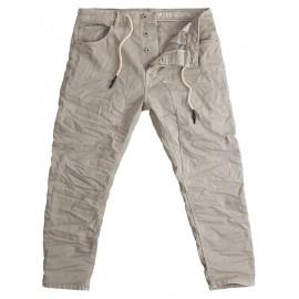 Pantalone Frank Crop Hybrid Demin !Solid